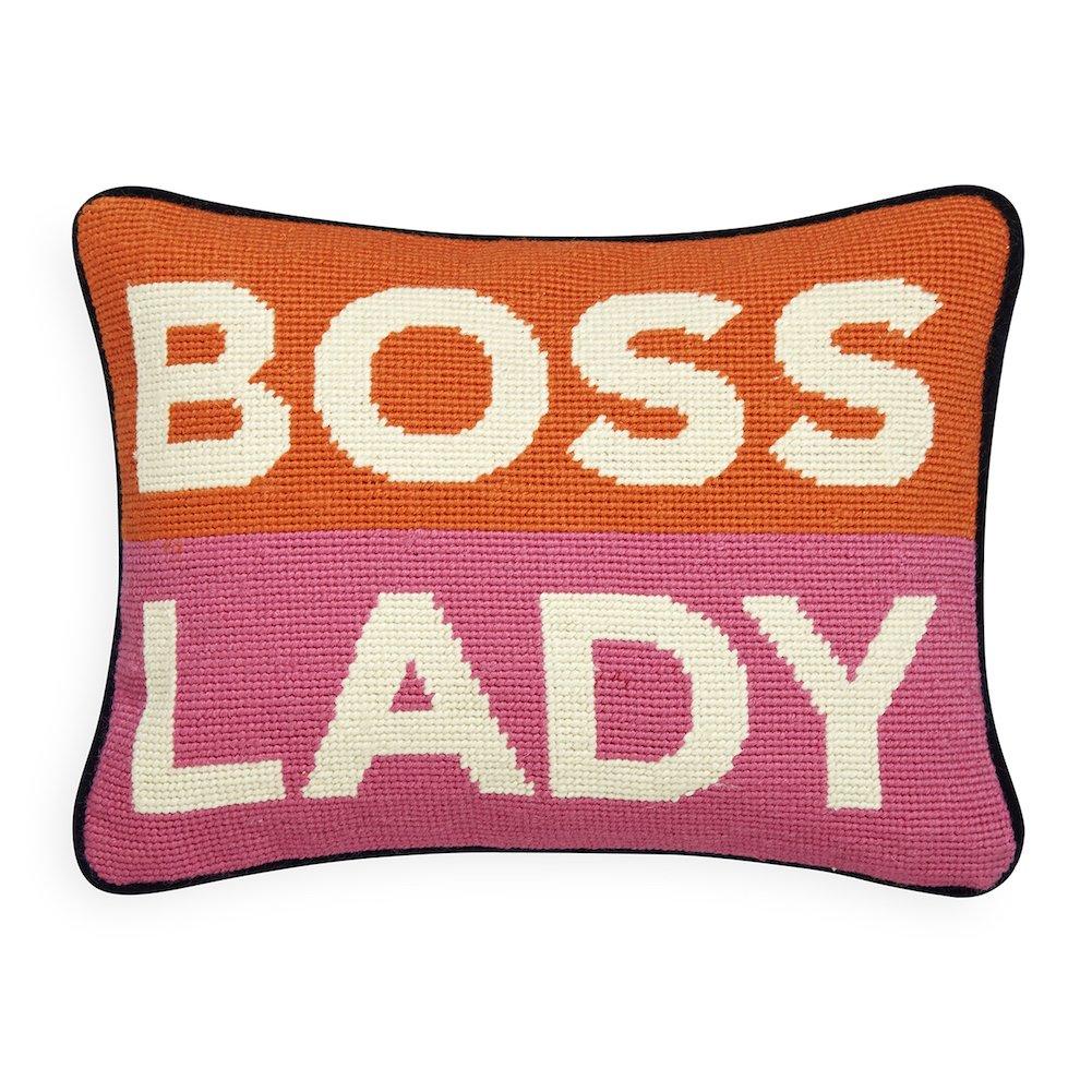 Jonathan Adler - Throw Pillow - Boss Lady