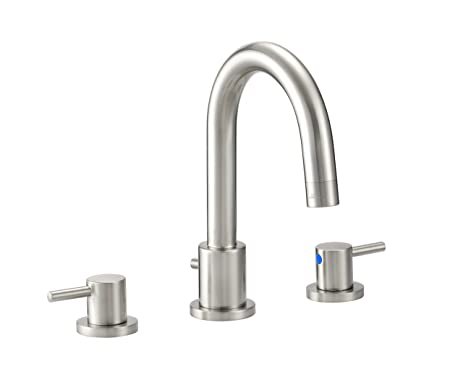 Design House 525741 Geneva Wide Lavatory Faucet, Polished Chrome