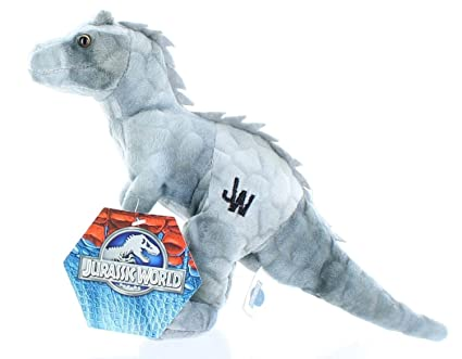"Jurassic World Velociraptor 7"" Plush [Blue] (Gray Indominus ..."