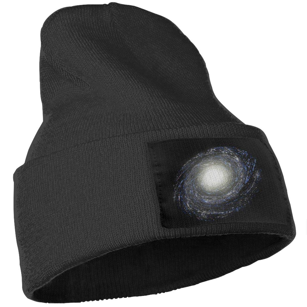 Milky Way Galaxy Cute Ski Cap Unisex 100/% Acrylic Knitted Hat Cap