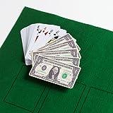 Jeu de 54 Cartes Billet de Banque Dollar