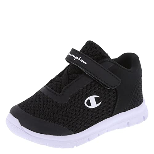 49bd0c5a1f15b Amazon.com  Champion Boy s Black White Infant Gusto Crosstrainer Infant Size  1 Wide  Shoes