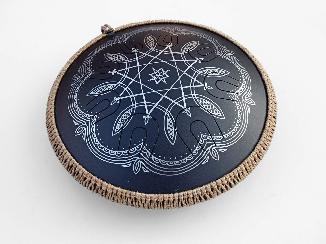 GUDA DRUM Coin with Rope Decoration FREE Mallets and Travel Bag