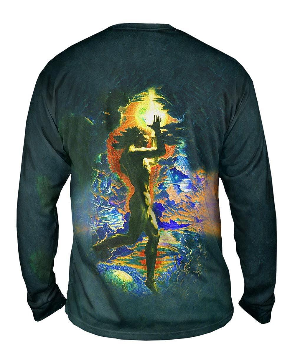 Yizzam- Jean Delville 1907 -TShirt- Mens Long Sleeve Prometheus