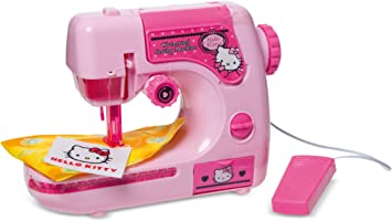 IMC Toys - Maquina De Coser Hello Kitty Pilas 43-310506: Amazon ...