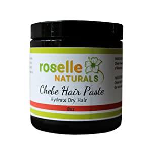 Chebe Hair Paste - Made with Chebe Powder and Tallow. Herbal Hair Moisturizer, Hair Growth Formula For Strong, Healthy Hair 8oz