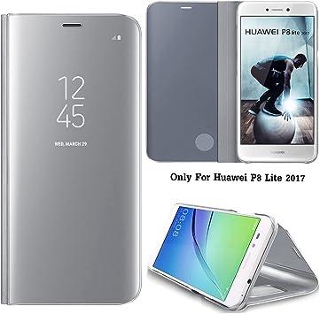 Guran® Mirror Efecto Espejo Funda para Huawei P8 Lite (2017) / P9 ...