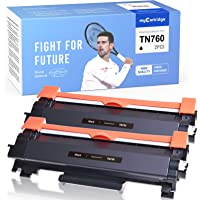 myCartridge Compatible Toner Cartridge Replacement for Brother TN760 TN730 High Yield Black Fit for Mfc-L2710DW Mfc…