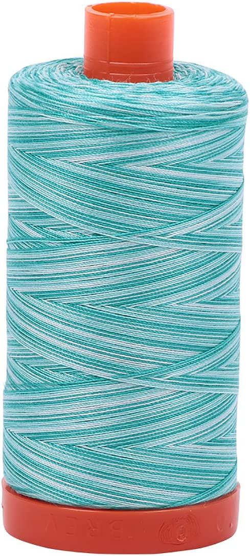 Aurifil A1150-4250 50 Weight 1422 yd Variegated Make Cotton Embroidery Thread