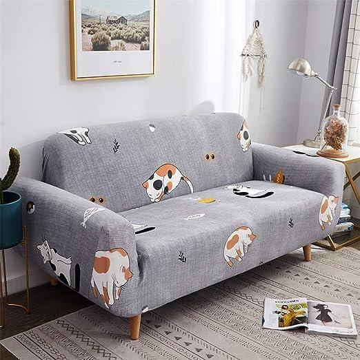 HOTNIU Funda Sofa 3 Plazas (175-220 cm) Elastica, Cubre ...