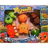 """PLAY & EXPLORE Juguetes para el baño """"Ocean small Paradise"""" Juguetes infantiles de calidad multicolor Juguetes del baño durante más de baño"""