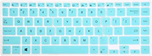 """Leze - Keyboard Cover Compatible with 14"""" ASUS VivoBook S14 S433 Laptop - Mint"""