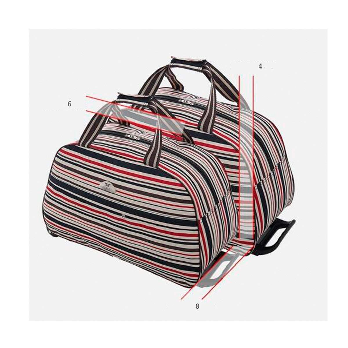 20 inches Travel case Suitcase,Handbag Travel Storage Bag Color : Red Mickey, Size : 24 Soft Bag Bahaowenjuguan Trolley case