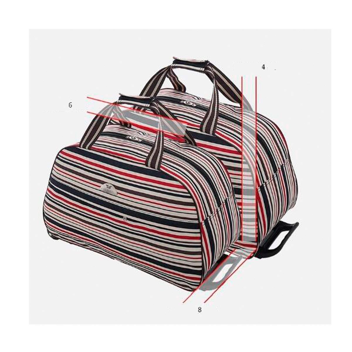 Bahaowenjuguan Trolley case Suitcase,Handbag Soft Bag 20 inches Color : Colored Petals, Size : 20 Travel case Travel Storage Bag