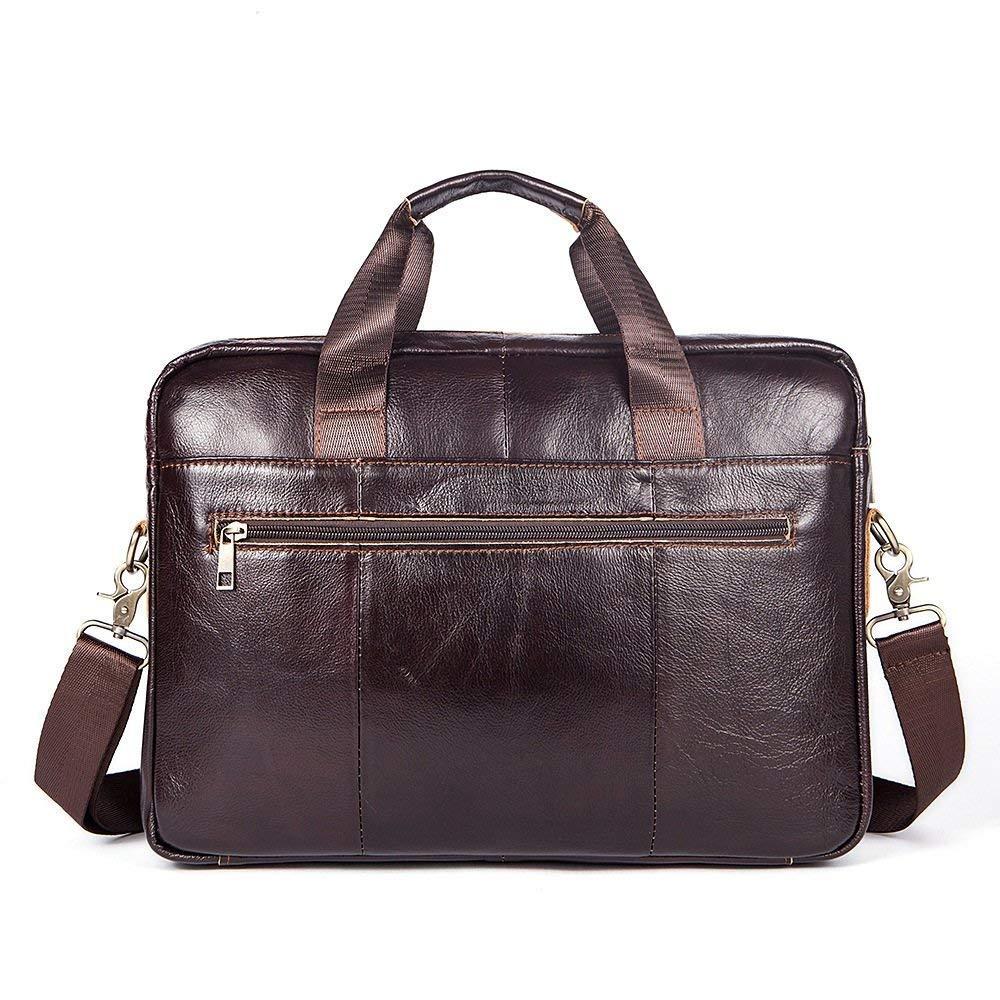 Briefcase Home Herren Tasche Aktentasche Business Casual Querschnitt Reißverschluss Handtasche Großhandel 14 Zoll Computer Tasche