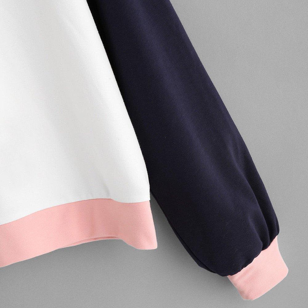 Litetao New Fashion Raglan Hoodie Print 2030 Sweatshirt Long Sleeve Pullover Tops at Amazon Womens Clothing store: