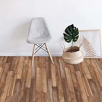 7 Pcs Vinyl Floor Wall Sticker For Home Decor Peel And Stick Non Slip Flooring Plank Removable Water Proof Backsplash Tile Decal For Kitchen