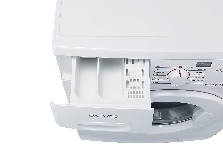 Daewoo DWDFI5411 Independiente Carga frontal 8kg 1400RPM A+++ ...