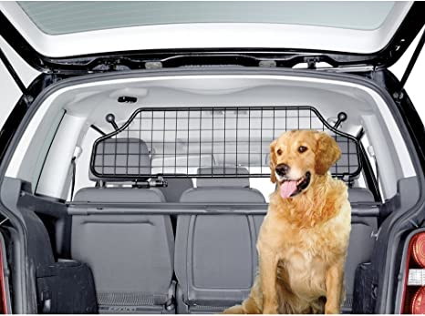 Dog Guard 2 bar FULLY ADJUSTABLE car pet barrier gard