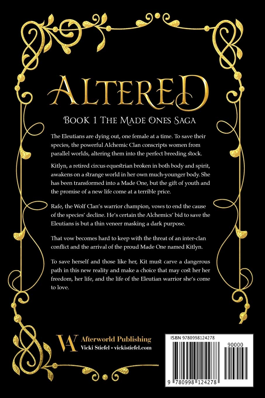 Altered: The Made Ones Saga Book 1: Amazon.es: Stiefel, Vicki ...