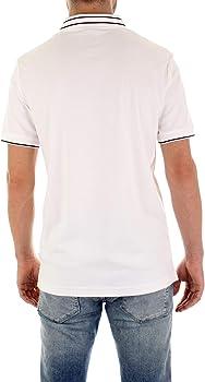 Calvin Klein K10K105183 - Polo de Manga Corta para Hombre Bianco S ...