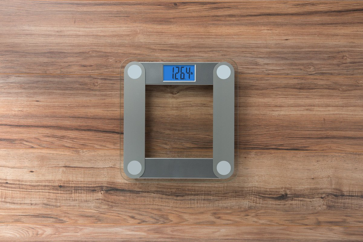 EatSmart Precision Digital Bathroom Scale with Extra Large Lighted Display, Free Body Tape Measure Included by EatSmart