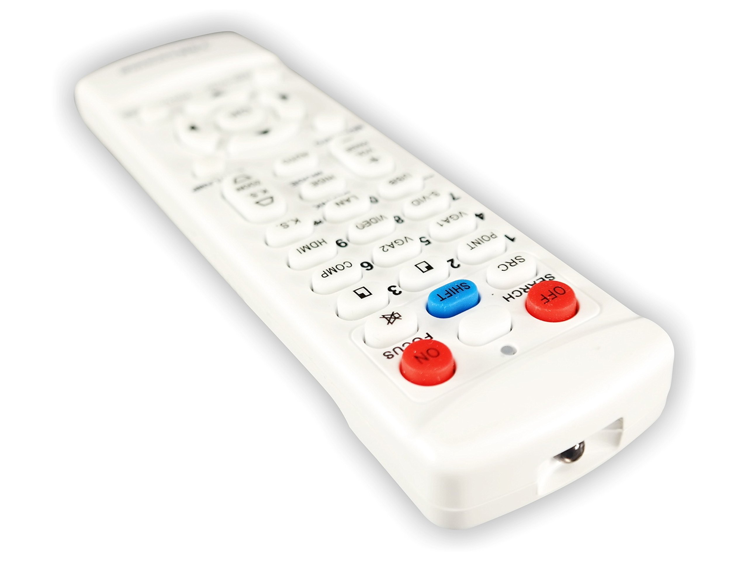 Barco RLM-W8 TeKswamp Video Projector Remote Control (White) by Tekswamp (Image #3)