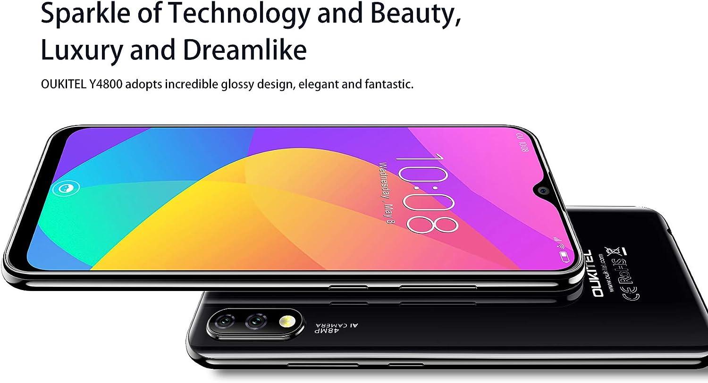 OUKITEL Y4800 (2019) Teléfono Móvil Libre, Cámara AI 48MP + 5MP + ...