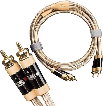 2 unidades RDA cable de conexión de cables de teléfono largo 4 m gris 5 conductores