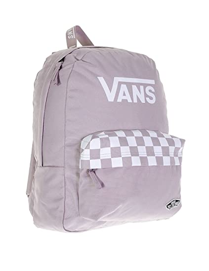 8b3a8b5ac812 Vans Sporty Realm Backpack Sea Fog White VN0A2XA3O59 School Bag Vans Bags   Amazon.ca  Clothing   Accessories