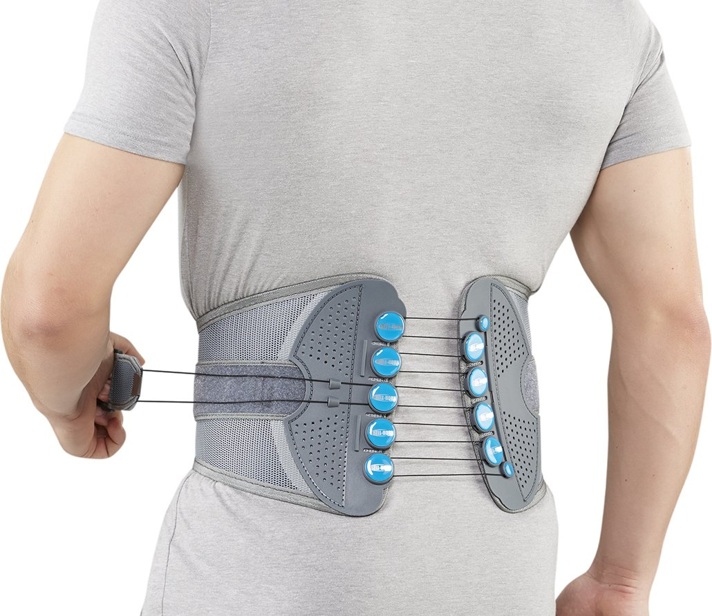 Bell-Horn Spine Support Brace, XX-Large (Waist: 45'' - 50'')