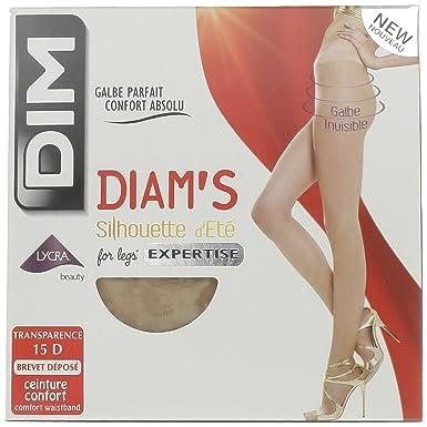 Dim Diam s Silhouette Été - Collants - 20 Den - Femme - Beige (Peau Dorée f808e88a5c2