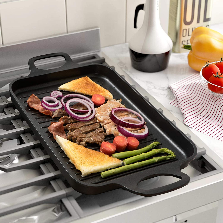 Amazon.com: Parrilla para horno antiadherente: Kitchen & Dining