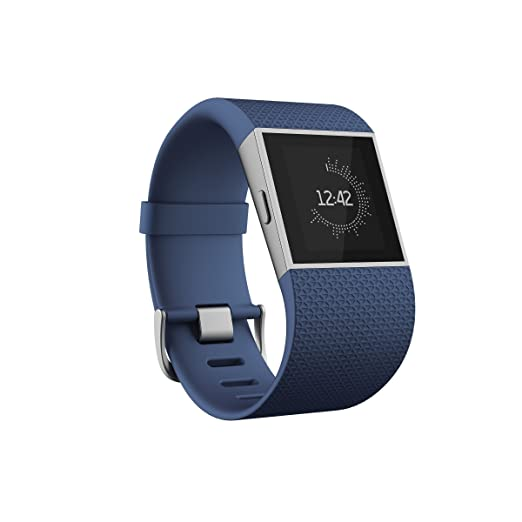 176 opinioni per Fitbit Surge Braccialetto Wireless con touchscreen e GPS, Monitoraggio Sonno e