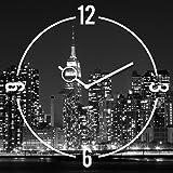Eurographics U-BA4037 Time Art - New York 30 x 30 cm Clock