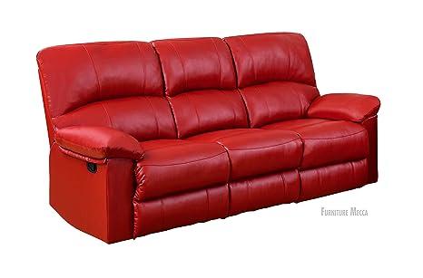 Amazon.com: Red Barrel Reclining Sofa, Deep Cushioned Soft ...