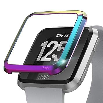 Ringke Bezel Styling Diseñado para Funda Fitbit Versa (por Fitbit ...