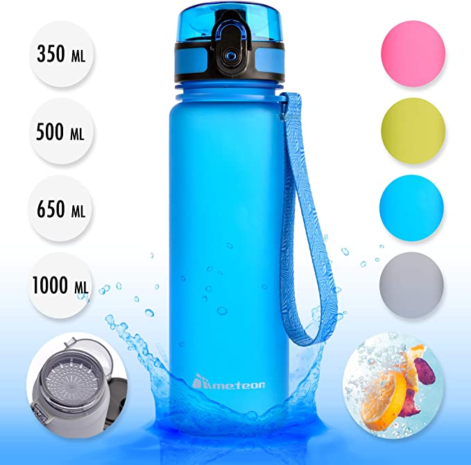 meteor Botella Agua sin BPA Tritan Plastico Water Bottle ...