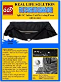 Real Life Solution Nylon Split AC Cleaning Cover (Black)