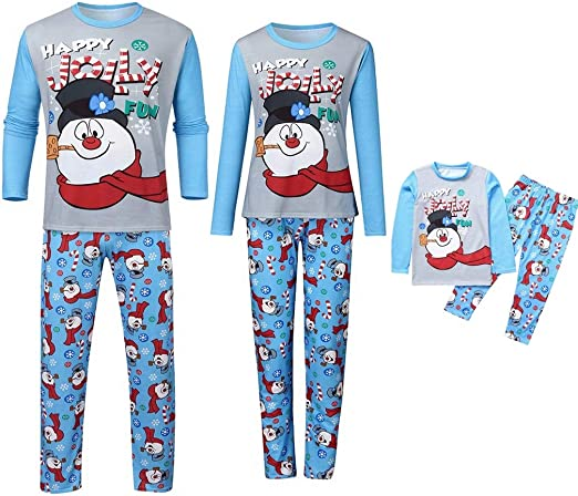 X-mas Christmas Striped Nightwear Winter Baby Kid Boy Girl Pajamas Set Sleepwear