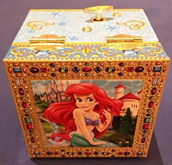 The Little Mermaid Ariel Musical Jewelry Box Disney Parks