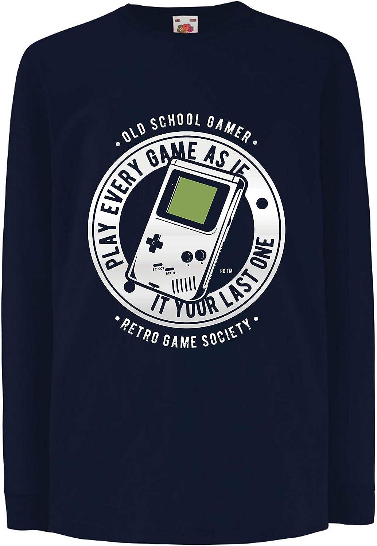 lepni.me Camiseta para Niño/Niña Videojugador de la Vieja ...