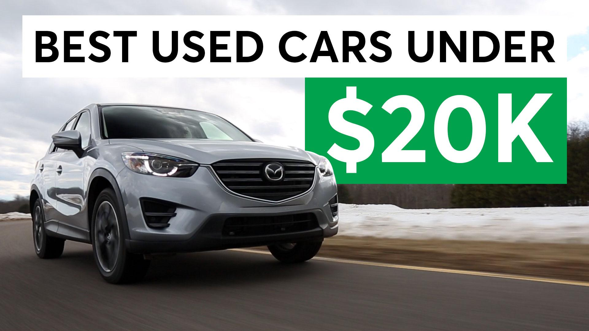 Cars Under 20k >> The Best Used Cars Under 20k