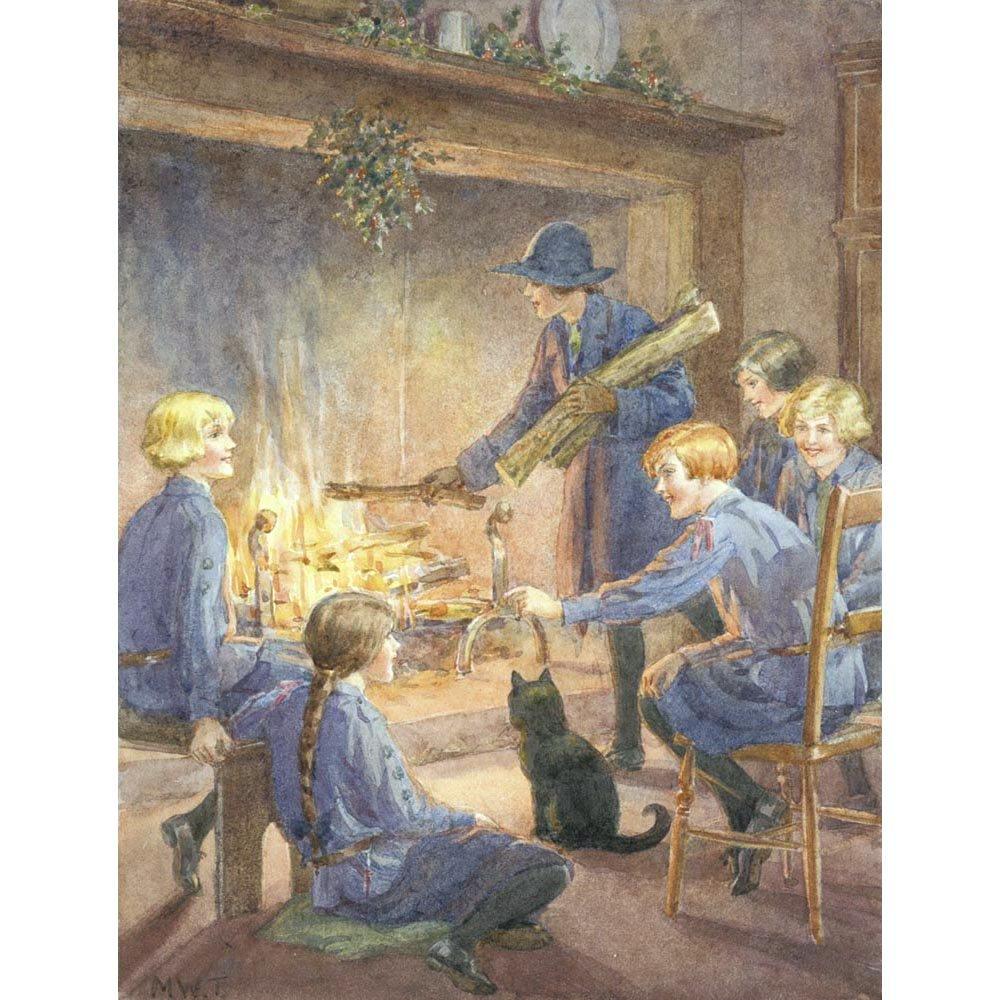 Christmas Eve, Margaret Tarrant - Medici Print The Medici Society Limited
