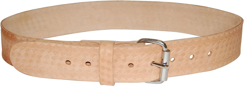 Bucket Boss 55133 Top Grain Leather Work Belt 1.75-Inch by Bucket Boss