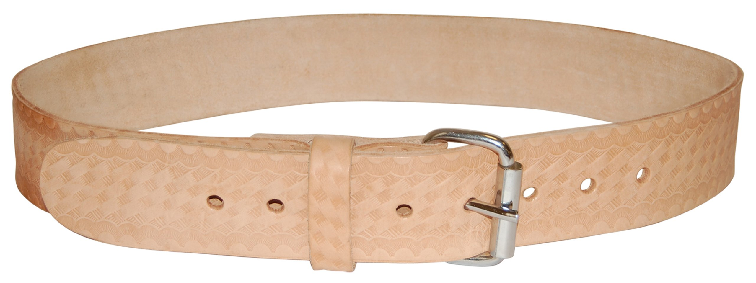 Bucket Boss 55134 Top Grain Leather Work Belt 1.75-Inch