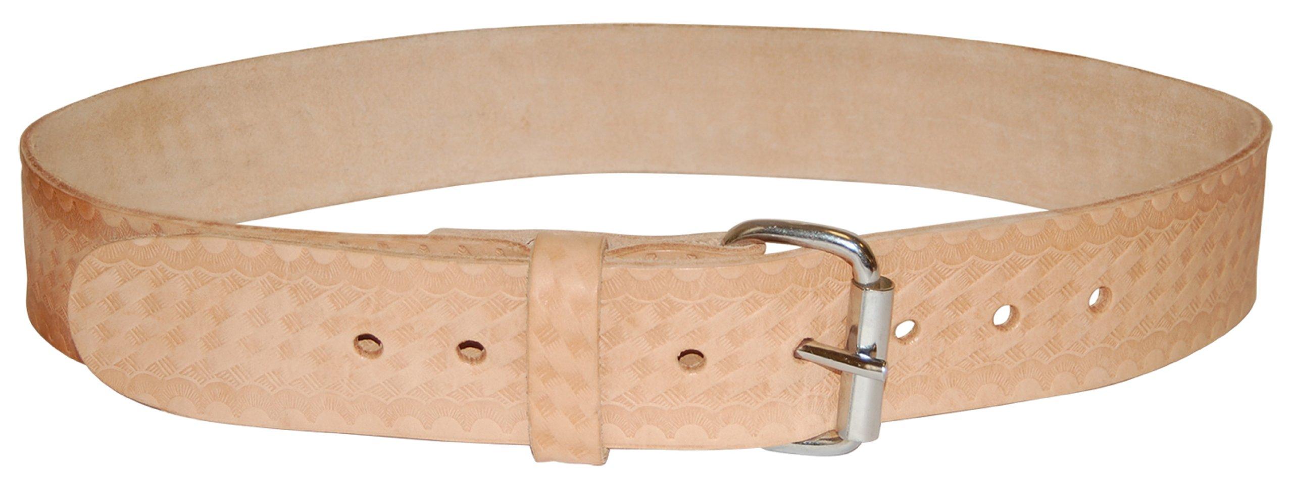 Bucket Boss 55134 Top Grain Leather Work Belt 1.75-Inch