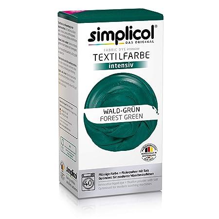 Simplicol Kit de Tinte Textile Dye Intensive Verde: Colorante para ...