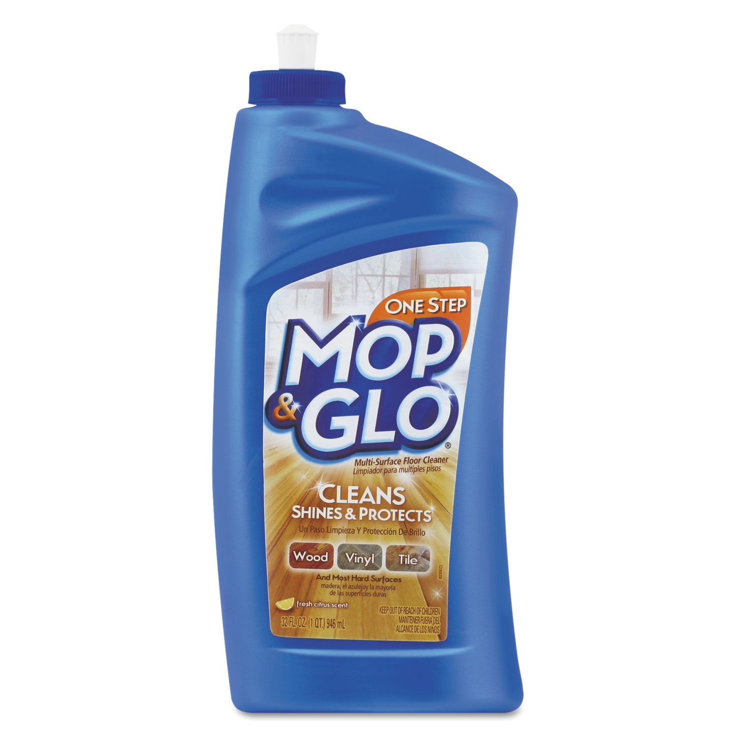 Mop & Glo Multi-Surface Floor Cleaner, 32 Ounce (Pack of 6)