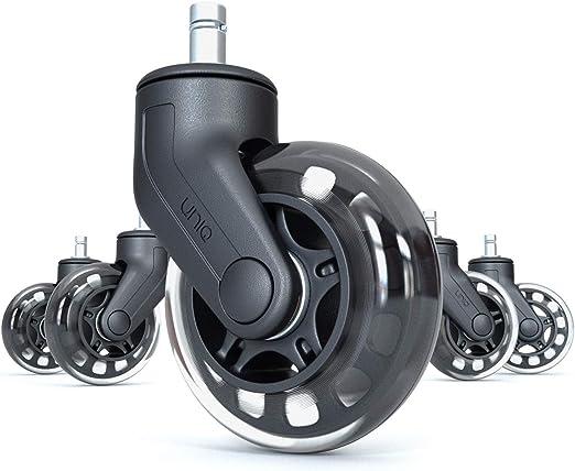 Amazon.com: Rollerblade – Juego de 5 ruedas para silla de ...